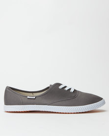 Tomy Takkies Original Lace Up Charcoal