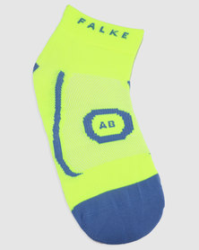 Falke Performance AB Liner Yellow and Green