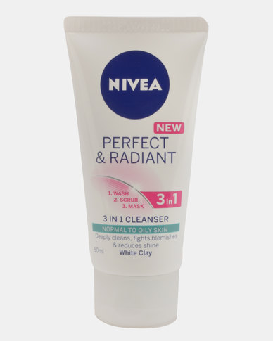 Nivea Perfect & Radiant 3 in 1 Cleanser 50ml