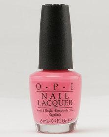 OPI Nl Kiss Me Im Brazilian Nailpolish Pink