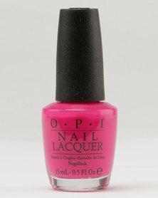 OPI Nl Pink Flamenco Pink