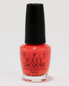 OPI Nail Lacquer Hot & Spicy