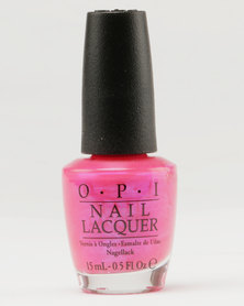 OPI Nl Hotter Than You Nailpolish Pink
