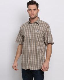 Jeep Stripe Shirt Khaki
