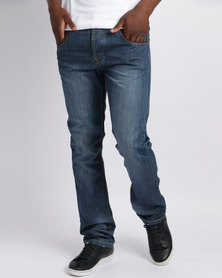 Soviet M Grant #9 Slim Leg Jeans Indigo