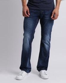 Soviet M Garett #12 Straight Leg Jeans Blue