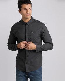 RVCA Mens Shirt Black