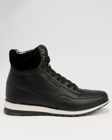 Tom_Tom Mens Boot Giorgio Ruzza Black