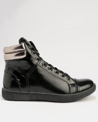 Tom_Tom Mens Boot Giorgio Ruzza Black