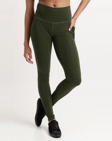 Azmi Wear Aria Leisure Leggings Green