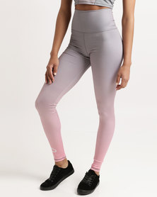 Azmi Wear Ombre Active Leggings Pink