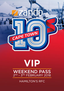 VIP Weekend -Zando 10s Cape Town