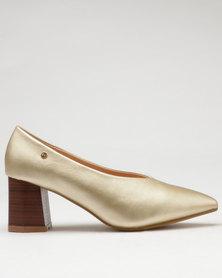 Dolce Vita Trento Heel Courts Gold