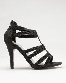 Dolce Vita Zeta Heel Sandals Black