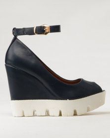 Dolce Vita Riri Wedges Navy