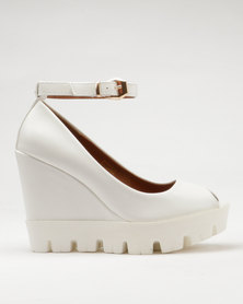 Dolce Vita Riri Wedges White