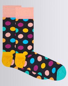 Happy Socks Big Dot Sock Multi Colour