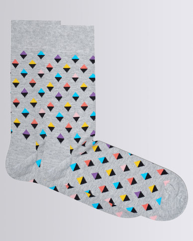 Happy Socks Mini Diamond Sock Multi Colour