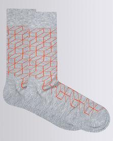 Happy Socks Optic Sock Multi Colour