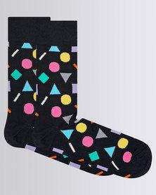 Happy Socks Play Sock Multi Colour