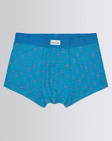 Happy Socks Palm Beach Trunk Blue