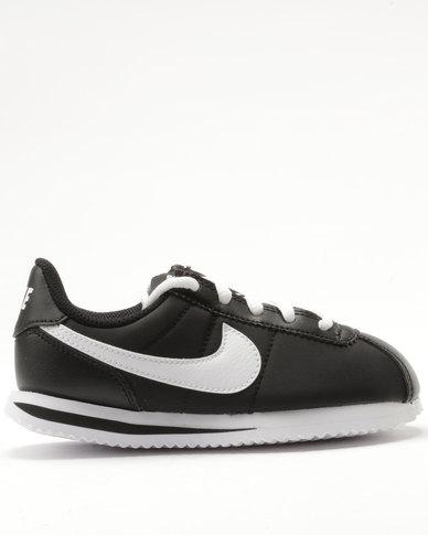 finest selection b9635 c153a Nike Cortez Basic Nylon Black