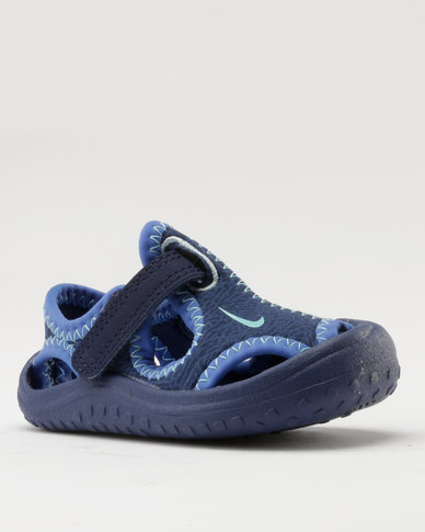 Toddler Protect Sunray Sandals Nike Blue HE29IWDY