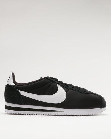 size 40 a5614 5d8ef Nike Classic Cortez Nylon Black