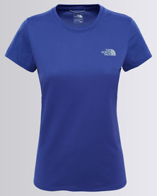 The North Face Reaxion Amp Crew T-Shirt Navy
