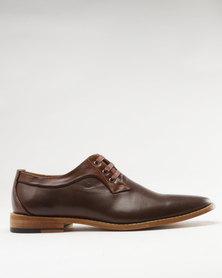 Bata Men's Contemporary Dress Shoes Brown