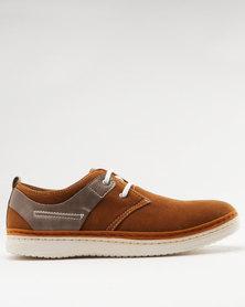 Bata Men's Casual Dress Shoe Brown
