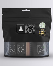 Sneaker Lab Premium Kit (4 pack) Sneaker Cleaner, Protector, Odor Protector And Brush Clear