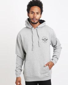 UNIT Mens Fleece Vanguard Hoody Black
