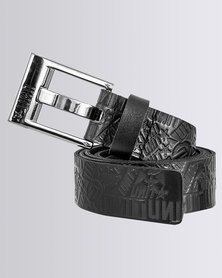 UNIT Mens Belt Enforcer Black
