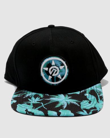 f93e04c6 UNIT Men's Headwear Tropics Snapback Blue   Zando