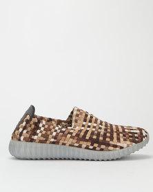 Rock Spring Mens Comfy Shoes Brown