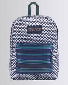 JanSport Superbreak Backpack Neo Geo