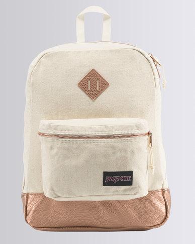 JanSport Super FX Backpack Rose Gold