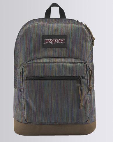 JanSport Right Pack Backpack Multi Color Woven Stripe