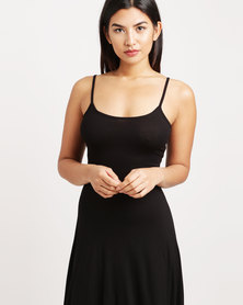Betty Basics Sahara Midi Dress Black