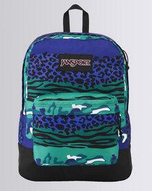 JanSport Black Label Superbreak Navy Animal Camo Festival Bag