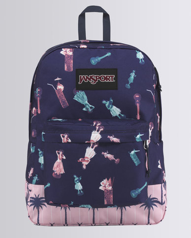 JanSport Black Label Superbreak Hula Life Palm Festival Bag
