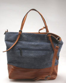 Dolce Vita Structured Tote Bag Tan