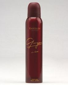 Yardley Gorgeous In Love Body Spray 150ml
