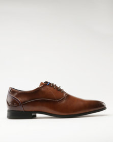 Gino Paoli Formal Lace Up Tan