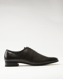 Gino Paoli Formal Perforated Toe Charcoal