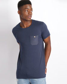 Deacon Late Short Sleeve T-Shirt Navy