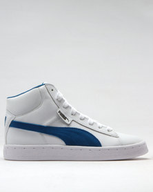 Puma 1948 Mid Leather Junior Sneakers White