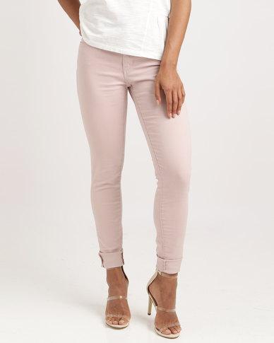 Zando Pale 710 ® Levi's Mauve Super Skinny Jeans Soft 78Ynq6nx