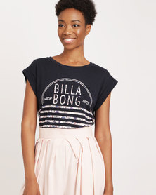 Billabong Fiesta Beats Tee Blue